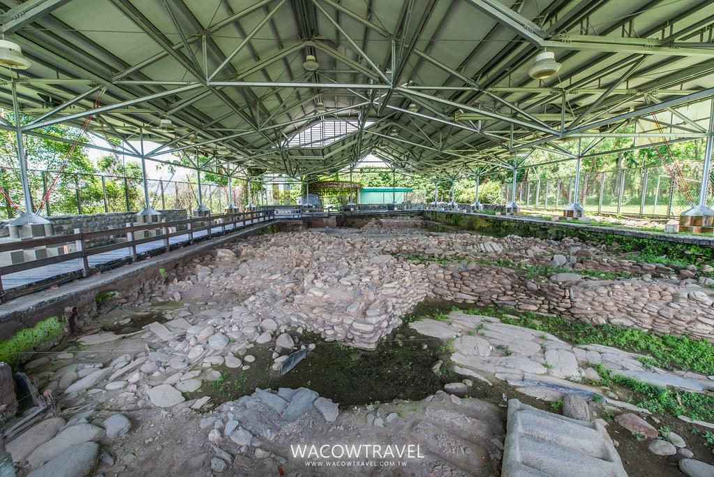 卑南文化公園考古現場