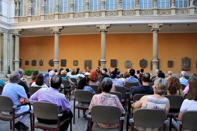 Público en la presentación de La Memoria del Cuerpo