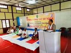 3rd International Yoga day celebration by Vivekananda Kendra Branch-Guwahati