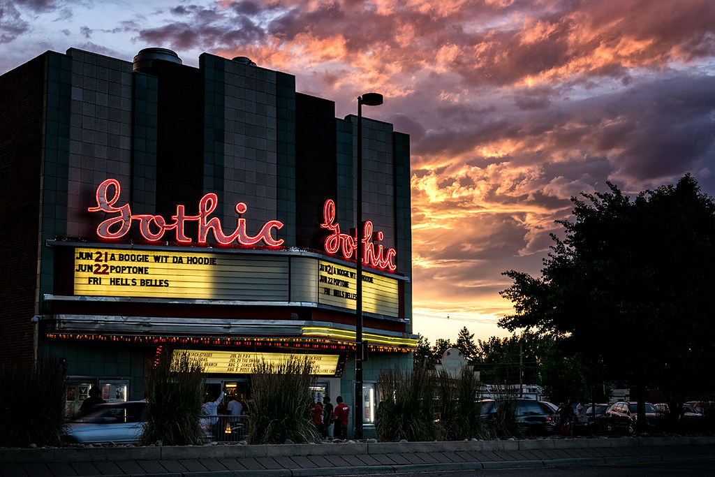 Gothic Theatre Neon, Denver CO