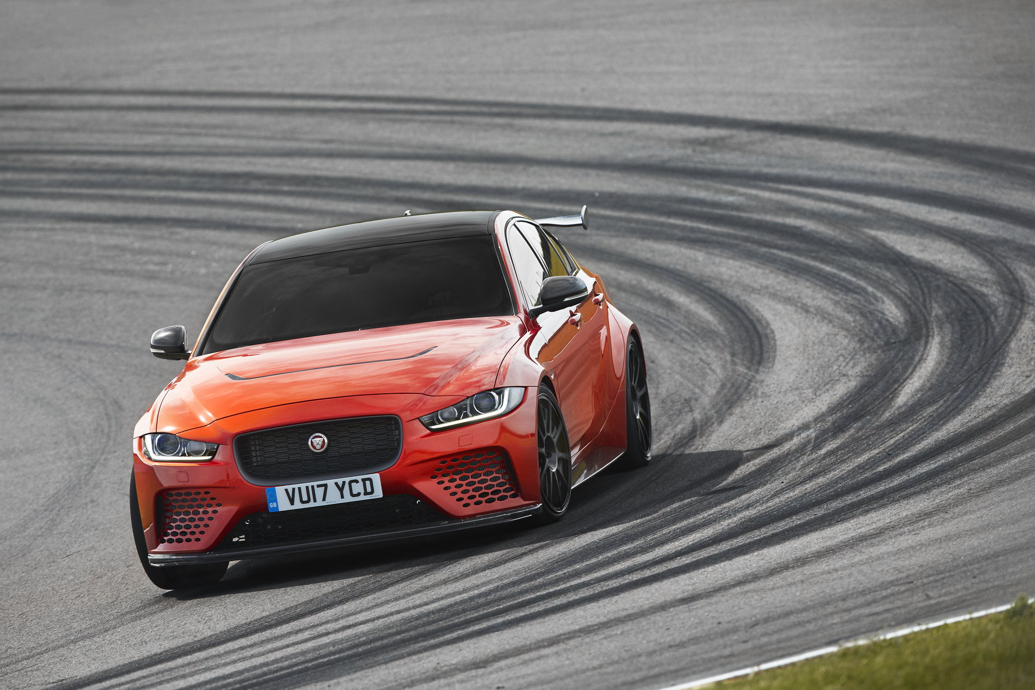 This is the new Jaguar XE SV Project 8