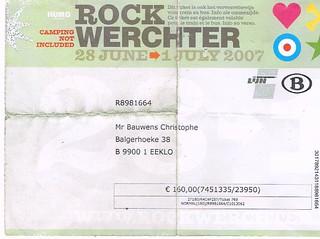 Rock Werchter 07