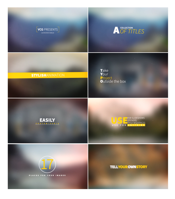 Videohive Titles Collection 15773115