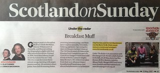 Scotland On Sunday, Breakfast Muff