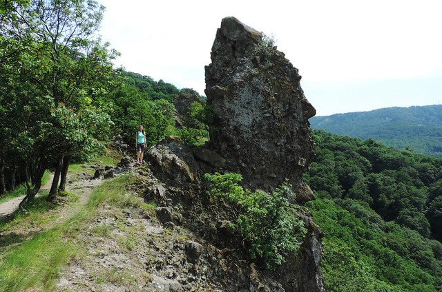 Hiking to Prédikálószék, Danube-Ipoly National Park, Hungary
