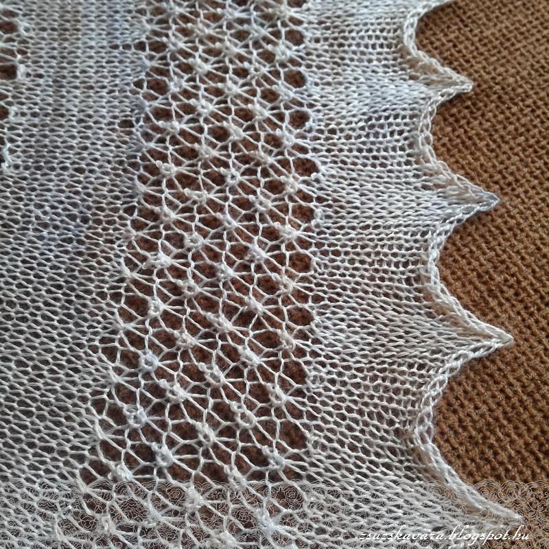 knitting, shawl, kleks, lace, fonalclub (5)