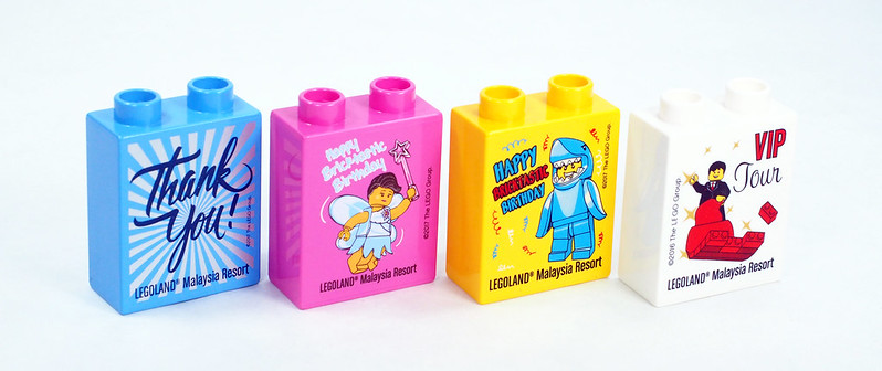 Exclusive LEGOLAND® Malaysia Promotional Duplo Bricks