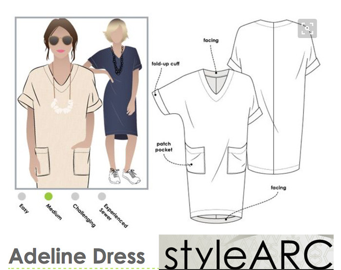 StyleArc Adeline dress