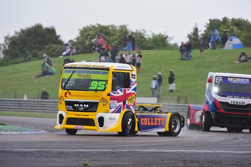 Richard Collett, MAN TGX 11000, British Truck Racing Championship, Thruxton 2017
