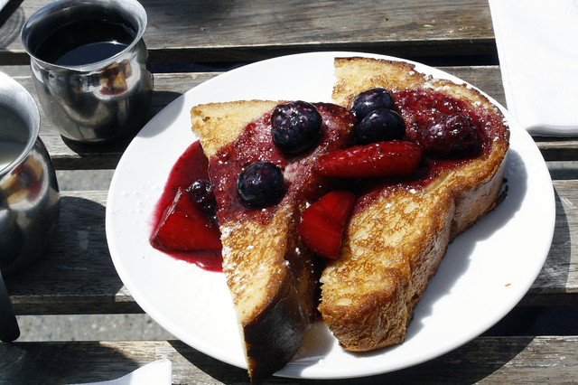 French Toast at Alice's Arbor