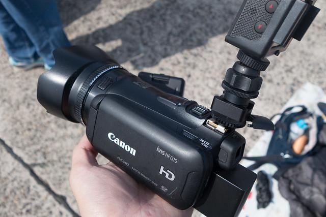 カメラシューマウント
