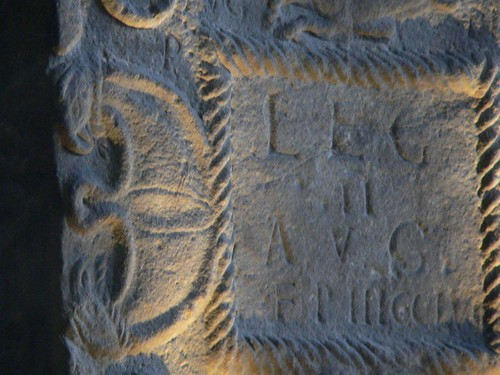 carved slab. From Exploring the History of the Antonine Wall at Glasgow Museum