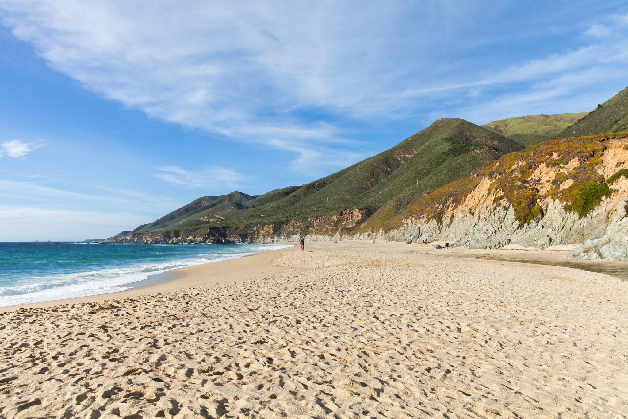 Garrapata Beach, by Virginia Mae Rollison