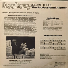 JOEY D. VIEIRA:DRUM DROPS VOLUME 3(JACKET B)