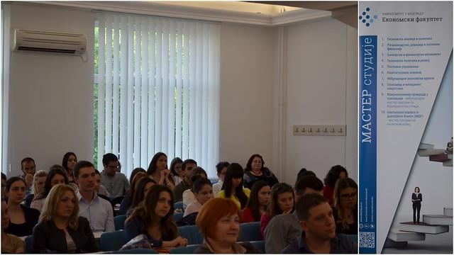 Презентација мастер програма Економског факултета
