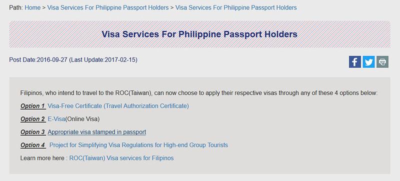 Taiwan Tourist Visa For Filipinos My Experience The Purple Doll