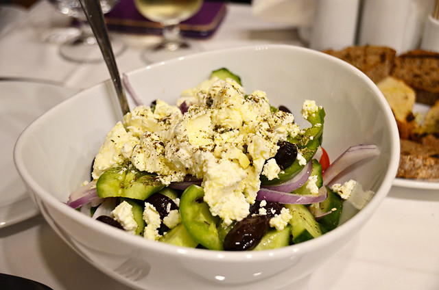 Greek salad, Crete