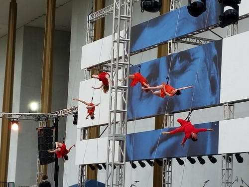Bandaloop at the Kennedy Center