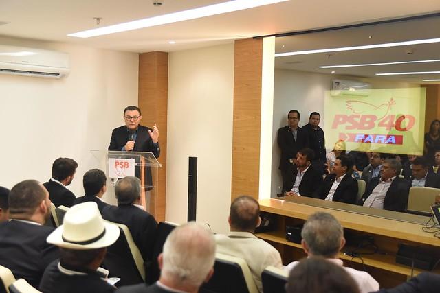 Inauguração da nova sede do diretório estadual PSB-Pará