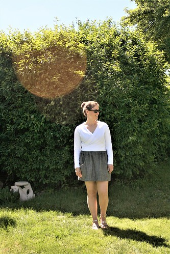 Cropped Coppelia Cardi for Summer | by patternandbranch
