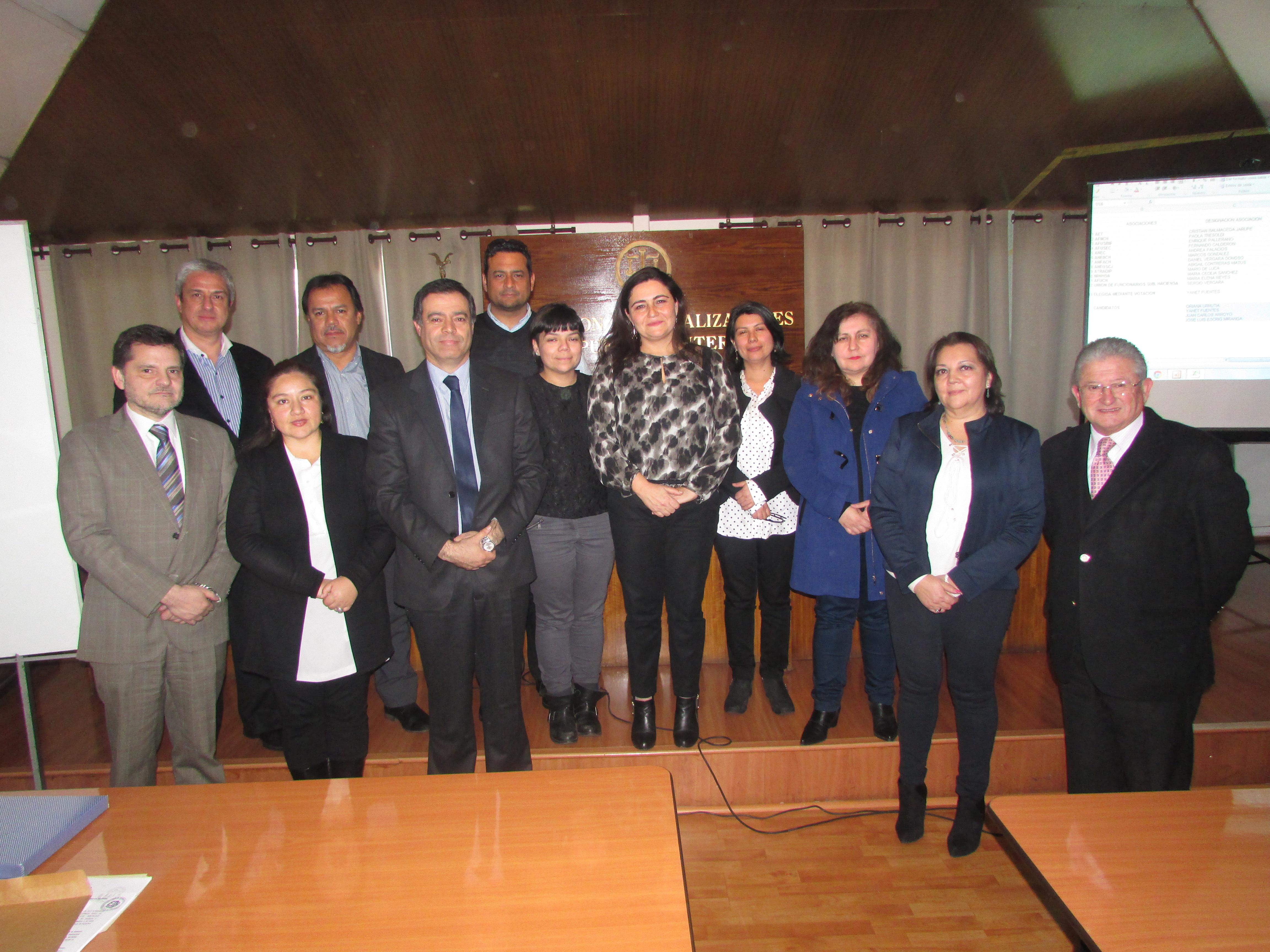 AFIICH integra el Directorio Ejecutivo del FTH 2017 - 2019 / 31 Mayo 2017