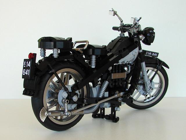 Nimbus motorbike, black B