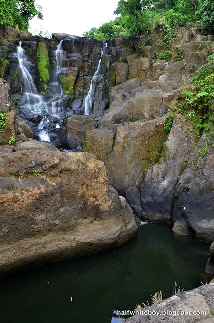 halfwhiteboy - talay falls, hidden falls, luisiana, laguna 17