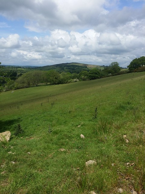 Meldon Hill from north of Lakeland