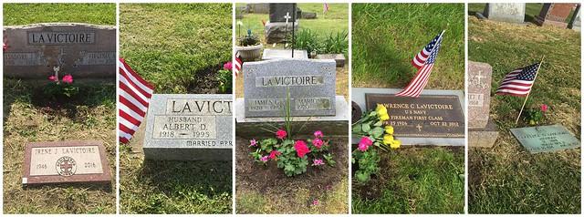 Lavictoire veteran graves