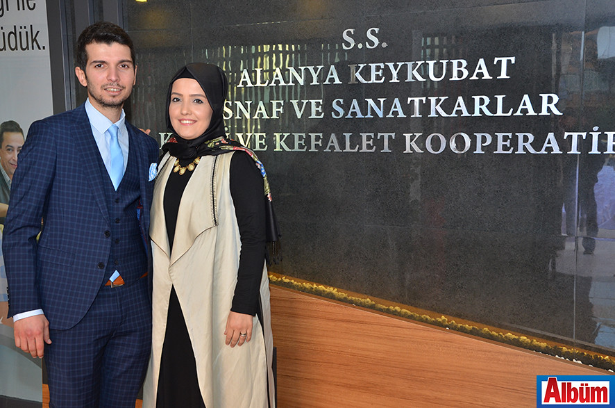 Kooperatif Müdürü Mehmet Yenialp ve eşi Sultan Yenialp