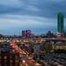 Dallas Texas Nightscape Skyline
