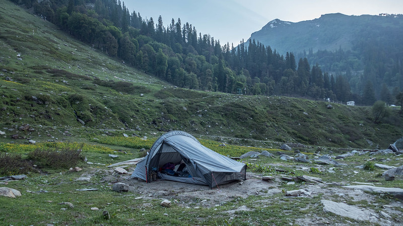Quickhiker UL2 tent at Dhundi