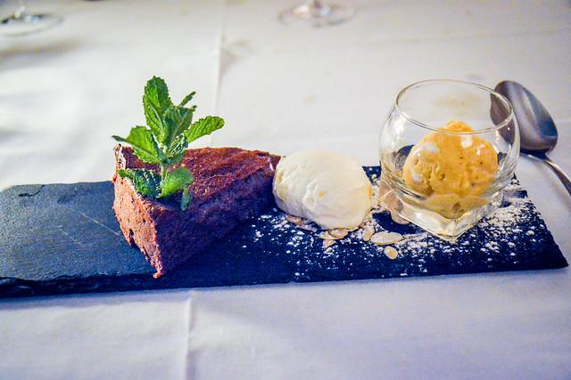 Chocolate Cake At Carmo's Boutique Hotel Portugal