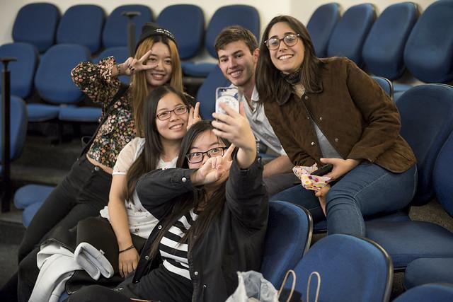 Despedida de estudiantes de Harbin, China, 2017