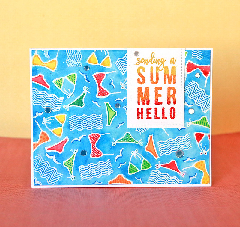 summer hello front