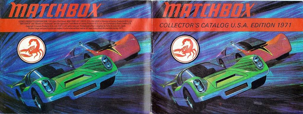 Matchbox 1971 Collector's Catalogue - Cover | Matchbox 1971