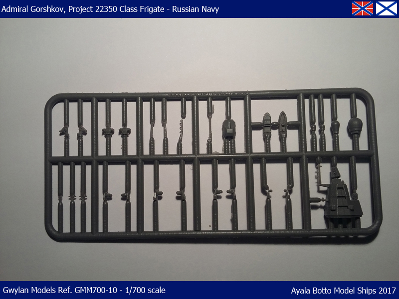 Frégate Gorshkov 417, Projet 22350 - Gwylan Models 1/700 35361092115_0487353778_o