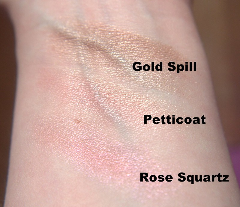 MAC Mineralize Skinfinish swatches