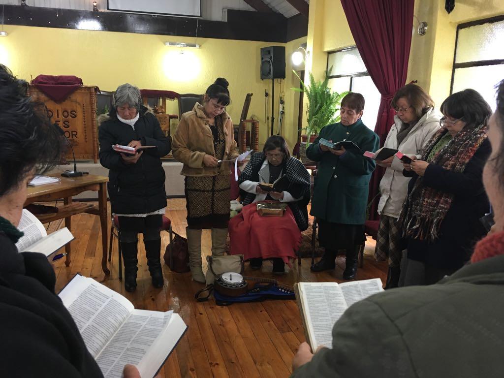 Bendecida Clase de Dorcas en IMPCH Presidente Bulnes-Hualpén