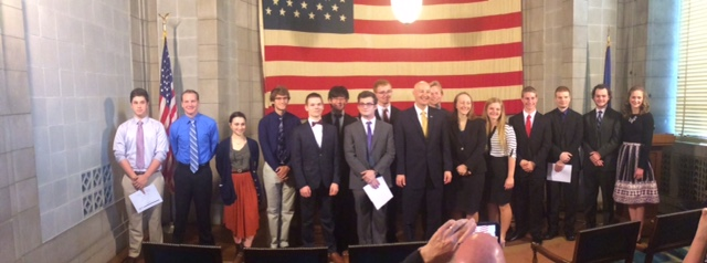 Gov. Ricketts, Education Department Recognize 17 High School Students for Top ACT and SAT Scores