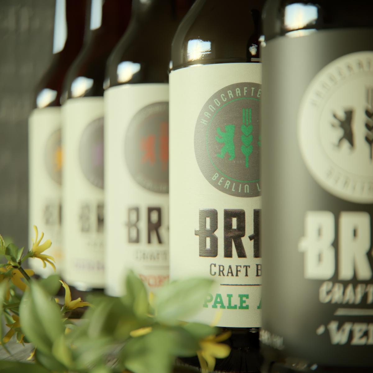BRLO beer CGI