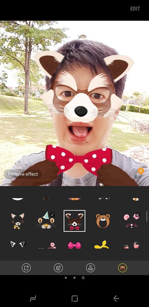 Samsung Galaxy S8 User Interface