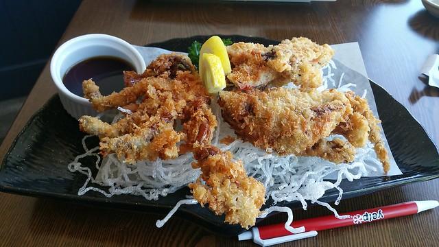 2017-05-25 KIMU sushi - soft shelled crab