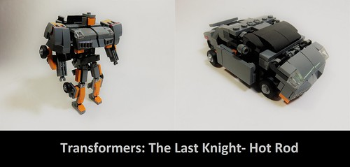 Lego Transformers The Last Knight- Hot Rod