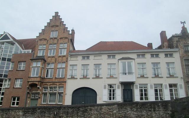 Canalside Houses, Bruges