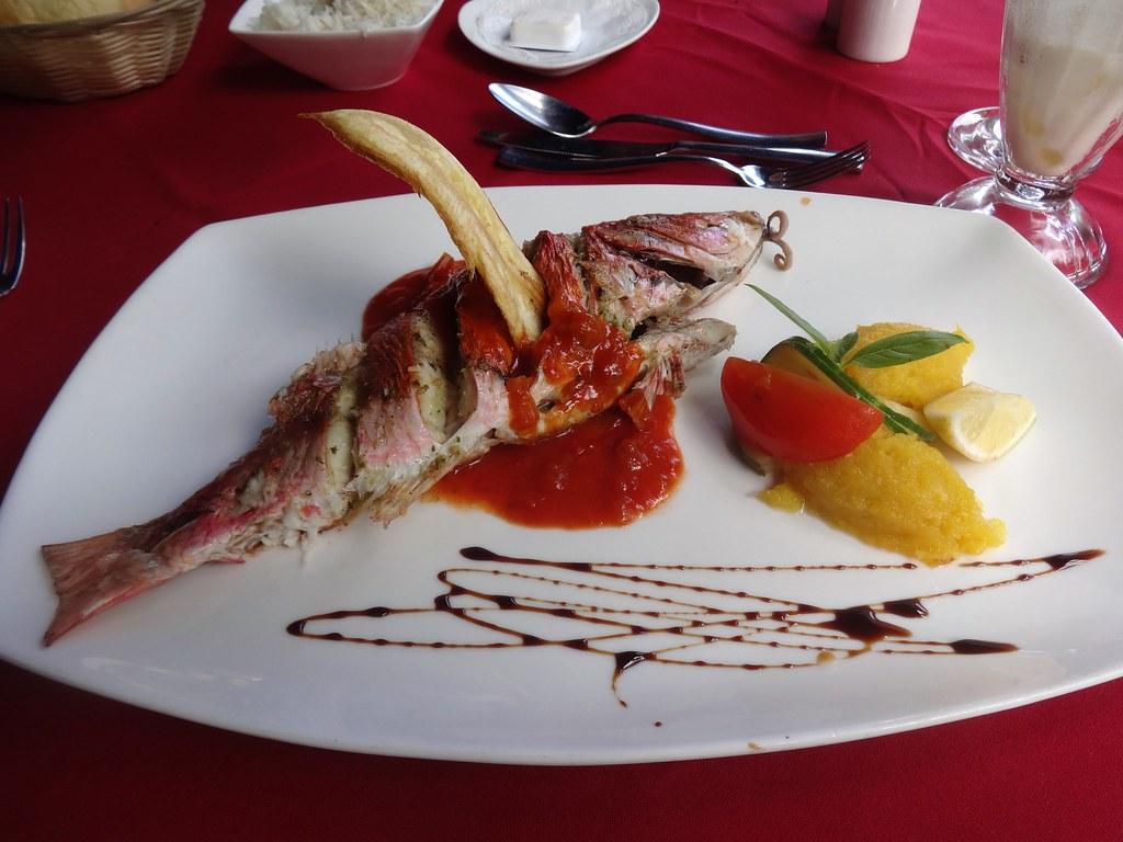 Restaurant on Praslin, Seychelles