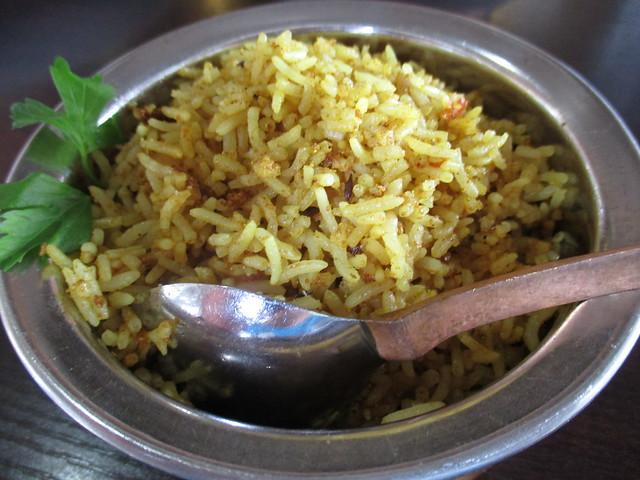 Cafe Ind bryani rice