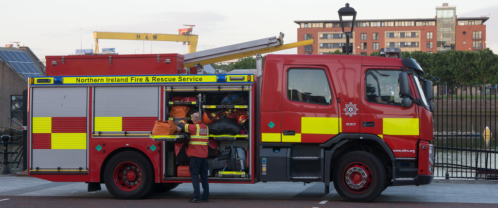 NORTHERN IRELAND FIRE AND RESCUE SERVICE IN BELFAST 002