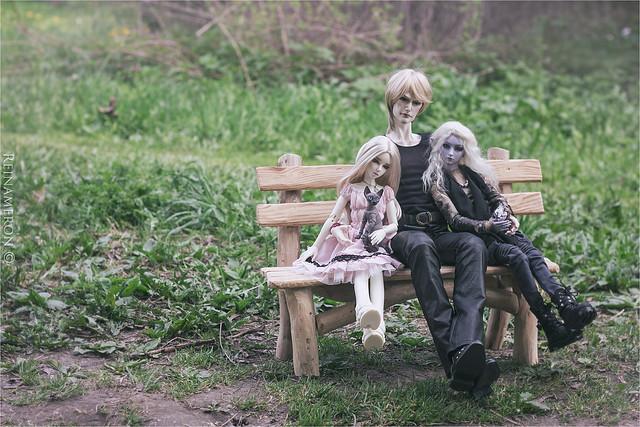 Steve, Sirius, Minerva and Calanthe
