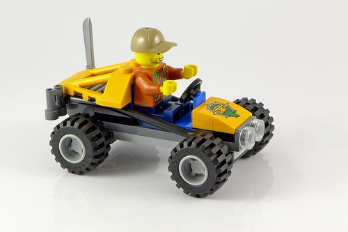 LEGO City 60156 Jungle Buggy 06